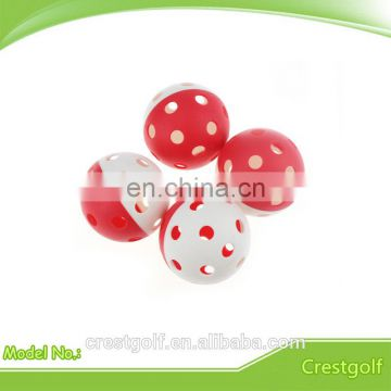 70MM Plastic Funny Game 26 holes Sports ball
