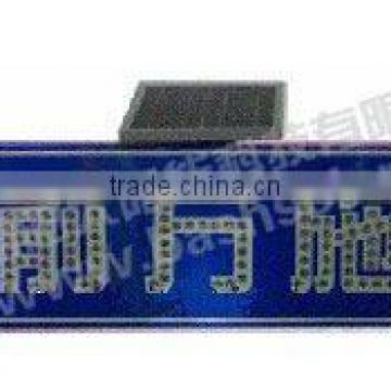 solar traffic sign, solar LED light