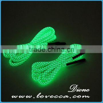 2017 New Trendy 550 Paracord Luminous Shoelace with Fire Starter & Metal Scraper Military Camping Hiking