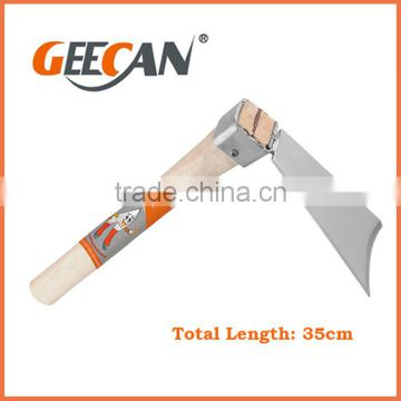 China Manufacturer High Quality OEM Service Wood Handle Garden Hoe