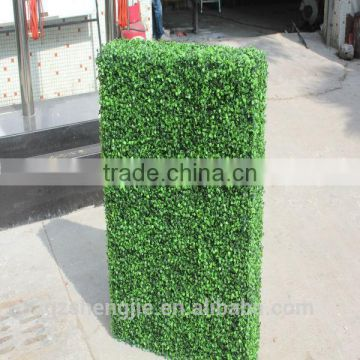 LXY072511 China artificial boxwood hedges for outdoor UV plastic boxwood hedges