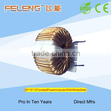 25 Toroidal Power Inductor With White Shell
