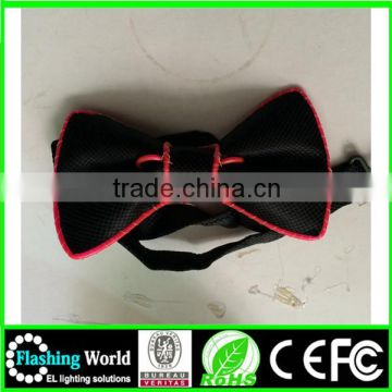 china wholesale a great variety of goods light up bow tie girl fashion