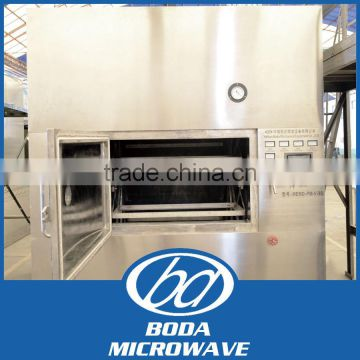 Microwave vacuum dryer for mango sauce