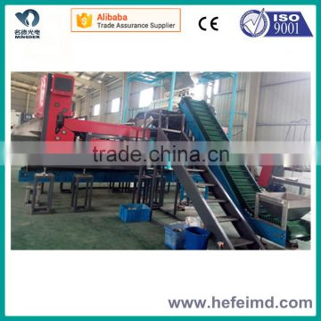 industrial CCD color sorter for plastic flakes, rubber, glass, salt with high capacity