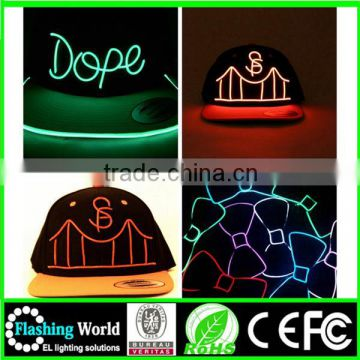 a great variety of models hot selling cheap baseball cap with built-in led light