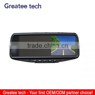 4.3'' Rear view Mirror Monitor With Bluetooth/Parking Sensor/Car camera optional