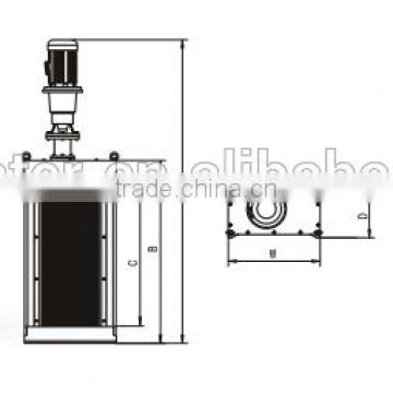 double drum grinder specification for drainage pump station