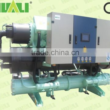 Low noise level heating water use water source heat pump