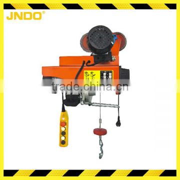 Light weight 600kg micro electric rope hoist
