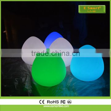 hot sale best seller LED plastic peach ball / LEDwaterproof peach ball / LED waterproof glowing peach