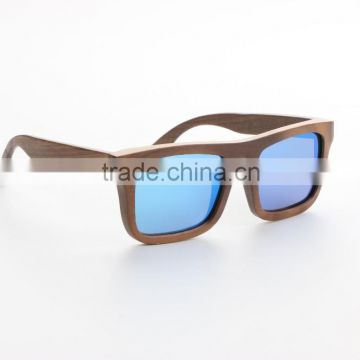 polarized sunglasses custom wood sunglasses blue mirro sunglasses                                                                                                         Supplier's Choice