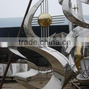 big size stainless steel sculpture