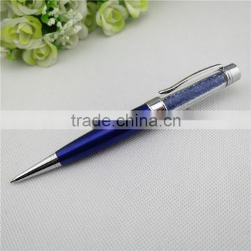 TCR-0802 Fat novelty crystal ball pen , 3 in 1 crystal pen with usb drive