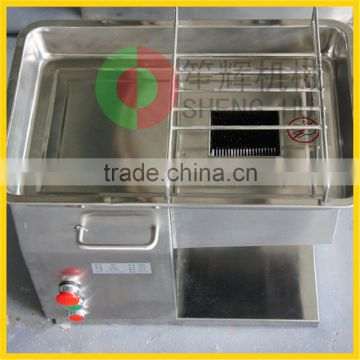 Factory direct sale tabletop automatic industrial electric fresh meat slicer