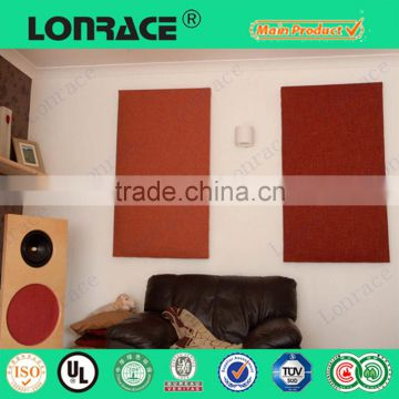 China supplier polyester fabric fiber acoustic panel
