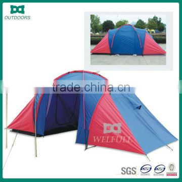 Good quality family tunnel tent for 4 person