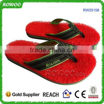2015 beach shoes for water,beach slipper, red color