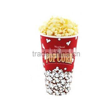 Cheap Eco Food Grade Transparent Plastic Popcorn Bucket with Lid