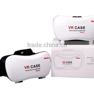 "Virtual Reality Helmet 3D VR Glasses for iPhone 6 6S Plus & Android 4.7 - 6"" Smartphone"