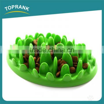 Hot selling cat dog interactive feeder pet silicone slow feeder bowl