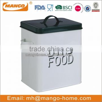 Powder Coating metal dog food storage