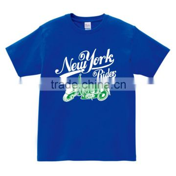 NEW YORK RIDER with MOTOR personality casual custom design t shirt short sleeve for Men
