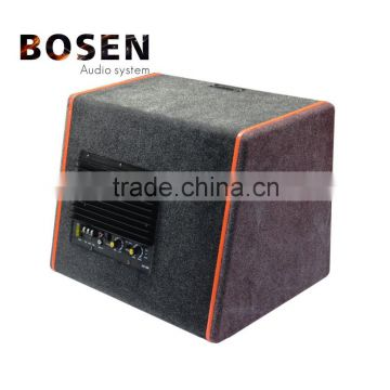 High quality Snow velvet active car subwoofer10 inch with amplifier LBS10-X2