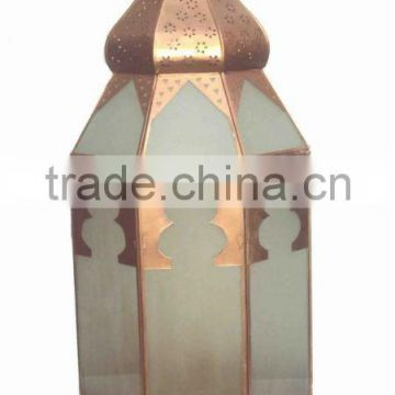 Moroccon table lantern, table top lantern, Arabic table lantern,