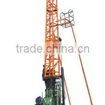 Drilling with angles , depth for 1400m---HF-44T Hydraulic Wireline coring drilling rig