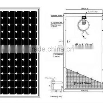 solar panel pv connector 220w