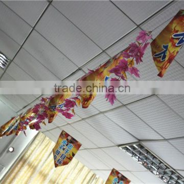 Home curtain gardens edging christmas decorative 1ft to 2ft or 30cm to 60cm artificial silk hanging maple branches EFYZ08 0604
