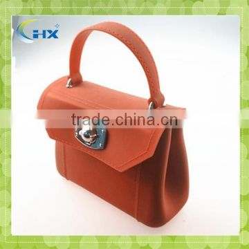 Silicone hand bag/ silicone tote bag/ rubber bag