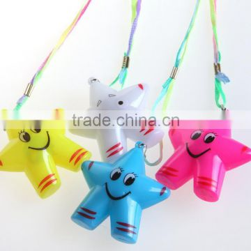 Promotional gift kids toy necklace Led light up Necklace/flashing necklace
