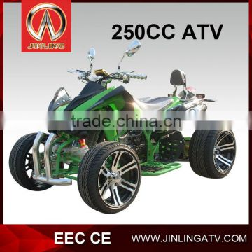 250cc Chain Drive Transmission ATV Racing ATV With EEC