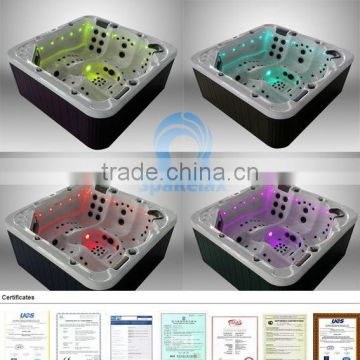 2014(A520) Newest Europe luxury jets TV outdoor spa hot tub Jakuzi function Spa