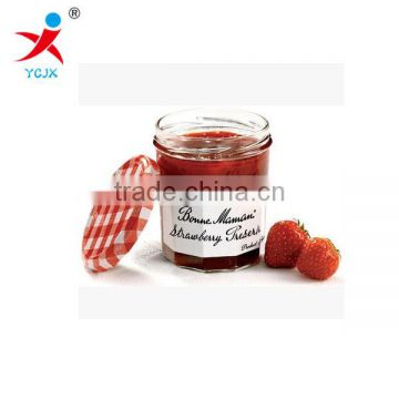 seal and clear Storage for Whole grains/Transparent glass container for candy &tea with lids