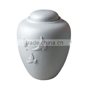 Environment Friendly Biodegradable Material Cremation Urn For Ashes
