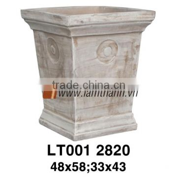 Vietnam High Classic Brown Glazed For Home And Garden