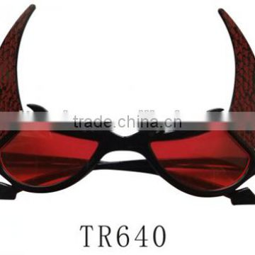 Halloween party bull shape fashion decorative glasses