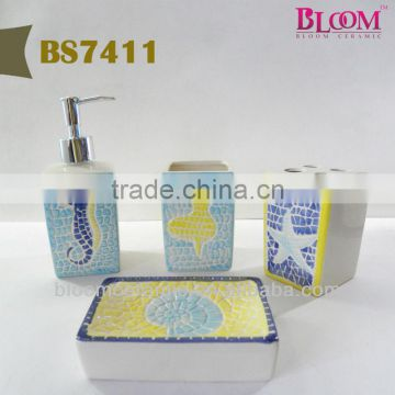 Ocean design wholesale bathroom accessories sets