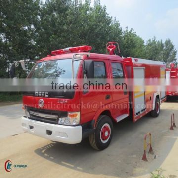 120hp DONGFENG 4*2 Fire Truck 4000L