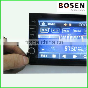2 din car dvd player with GPS TV BT Windows system touch screen 6.2 inch