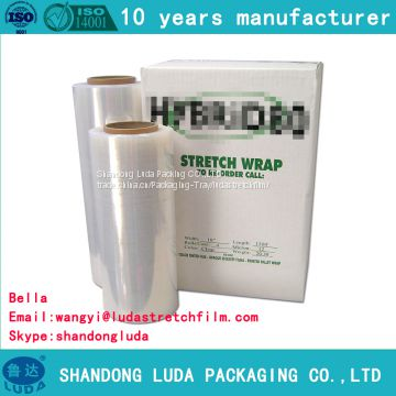 transparent LLDPE packaging stretch film supply