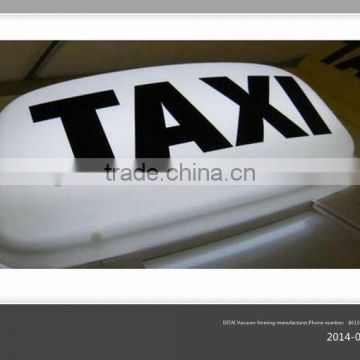 taxi top PMMA advertising light box
