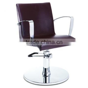 Round Base Modern Hydraulic barber chair hair cutting chairs with pedal wholesale barber supplies F-28090