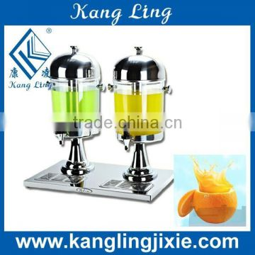16L Double Tank Stainless Steel Carbonated Beverage Dispenser for Commercial Use with Factory Price