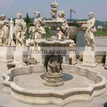 Antique fountain for landcaping decoration NTMF-W022