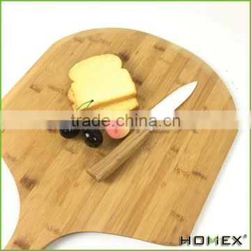 Bamboo pizza peel pizza serving boards with long handle Homex BSCI/Factory