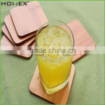 Decorative Wooden/ Bamboo coaster set Homex-BSCI